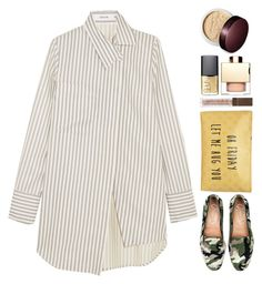 """Oh Friday let me hug you"" by thestyleartisan ❤ liked on Polyvore featuring Adeam, T-shirt & Jeans, NARS Cosmetics, Laura Mercier and Flawless by Friday"