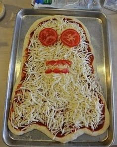 #pizza #happyhalloween #halloween #halloween2016 #halloweenparty…