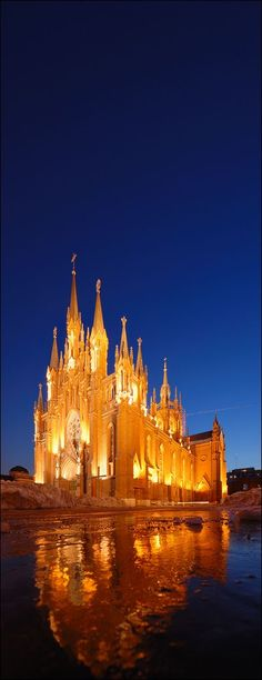 Roman Catholic Cathedral of the Immaculate Conception, Moscow: