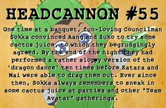 """The awsomness that is post TLA Gaang gatherings. I could see Uncle Iroh partaking as well...hehe. Oh, and its a bending """"form"""" not a dance!"""