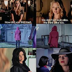 Pretty Little Liars Vanessa Ray as Charlotte Dilaurentis/CeCe Drake and Sasha Pieterse as Alison Dilaurentis parallels similarities