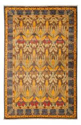 Solo Rugs Arts And Crafts 176379 Yellow Area Rug