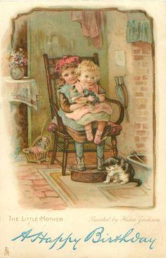 Helen Jackson - English - vintage postcard