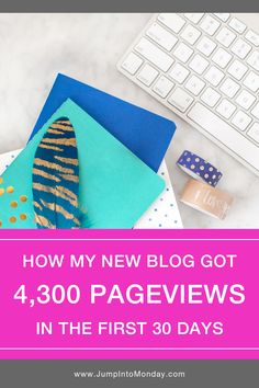 Here's how my new blog got over 4,300 page views in the first 30 days. See exactly how I got readers to my site and the exact steps that I took to see growth.