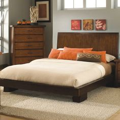 Stella Cal. King Platform Bed by Modus International