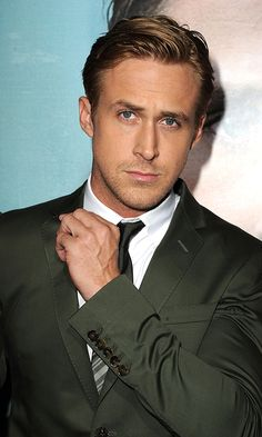 """Don't Be So Serious Ryan"": Ryan Gosling attends the ""Ides Of March"" Los Angeles Premiere at AMPAS Samuel Goldwyn Theater on September 27, 2011 in Beverly Hills, California."