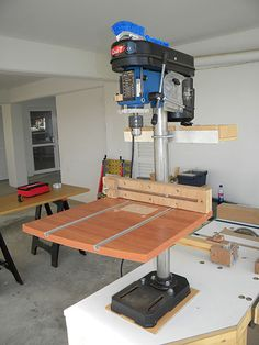 Improving my bench-top Drill Press - by steliart @ LumberJocks.com ~ woodworking community