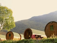 Glamping West Highland Way Scotland Kinlochleven - We're staying in one of these!