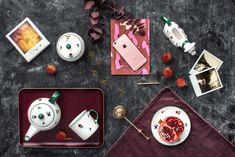 Auch dunklere Töne wie Purpur lassen sich perfekt zum Design Streublumen kombinieren - handgefertigt seit 1492 Keramik Design, Handmade, Flowers