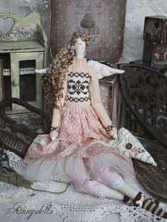 Gallery.ru / Фото #23 - Тильды в одежде стиля БОХО - Los-ku-tik