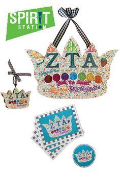 Zeta Tau Alpha Graffiti Gift Set