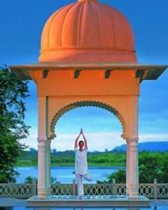 Spa treatments and yoga programs are year-round highlights at this pampering retreat. #JSSpa  Uberoi Udaivilas Indian