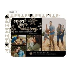 Winter Grace Photo Holiday Cards