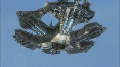 The Ancient's city spaceship Stargate Ships, Stargate Atlantis, Extinction Movie, Stargate Universe, Sci Fi Spaceships, Movie Scripts, Dark Fantasy Art, Illustrations And Posters, Star Trek