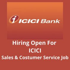 Hiring male and female candidates for the for ''ICICI'' bank jobs for Sales Process and Customer Service work. The post Hiring for 'ICICI Sales & Costumer Service' job appeared first on Jobs and Auditions. Icici Bank, Bank Jobs, Sales Process, Part Time Jobs, Customer Service, Mumbai, Female, Amp, Bombay Cat