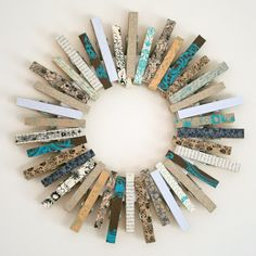 It's Overflowing | Tips to Simplfy, Beautify, Delight: Creative and Practical Uses for Clothespin {Crafts & Decor}