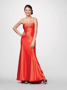 Column , red,Prom Dresses