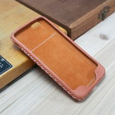 Add card pocket on the back for skin case in my listing