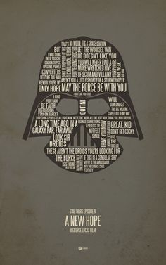 I live with 2 boys who love Star Wars.  Eventually I'm going to have to get this poster. It's my destiny.  $17