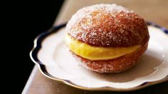 Portuguese doughnuts recipe (bola de Berlim) : SBS Food I love getting this at the bakery at Nazaré.