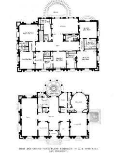 1000 Images About Floor Plans Classic On Pinterest