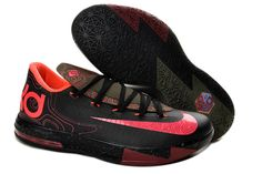Nike Zoom Kevin Durant KD 6 Black Pink Basketball Shoes
