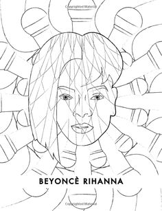 fanciful faces coloring book celebrity coloring book individuality books 9781518610721 amazon - Celebrity Coloring Book