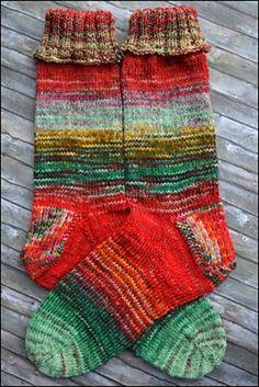 socksstreet sock blanks - love these colors together!