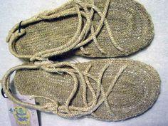 Men's Eco Dragon Hemp Sandals