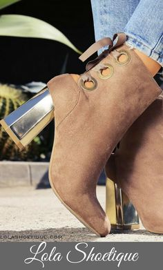 """The """"IT SCENE"""" Bootie from Lola Shoetique"""