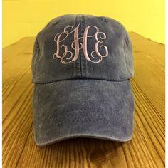 236b8e51f17 Monogrammed Hat. Monogram Hat. Monogram Baseball Hat. Cool Mesh Lining   amp  Adjustable