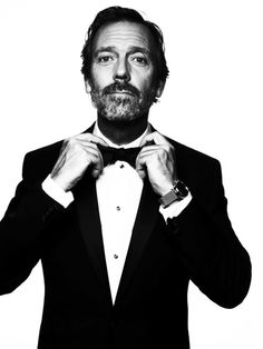 Hugh Laurie. definitely one of my fav actors.