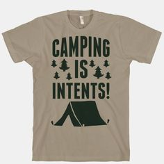 if you're not in a tent, you are not camping. end of story.