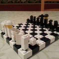 Make your own LEGO chess set!