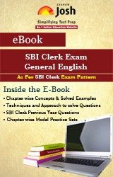 General English eBook is a perfect destination for every candidate, who is willing to score well in the examination. Apart from SBI Clerk Examination, our experts have made this book relevant for all other clerk level Bank Exams