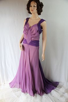 30s 40s Circus Dancer Costume Dress Lilac Purple by PetticoatsPlus on Etsy