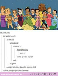 Disney Dudes Dressed As Their Other Halves. The Comments On This Are Actually The Best Part…