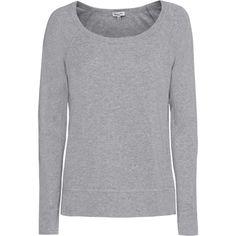 SPLENDID One And One Long Sleeve Heather Grey // Lightweight raglan... ($120) ❤ liked on Polyvore featuring tops, hoodies, sweatshirts, heather grey sweatshirt, splendid sweatshirt, boatneck sweatshirt, boat neck tops and lightweight tops