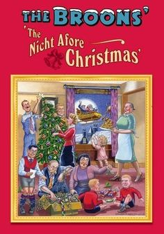 The Broons' 'The Nicht Afore Christmas' Christmas Poem - 8 page pamphlet by The Broons, http://www.amazon.co.uk/dp/1849342733/ref=cm_sw_r_pi_dp_KC3psb0V2FZCC