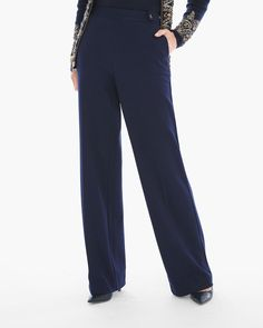 Chico's Women's Knit Twill Pants