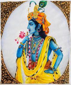 Sweet Lord, Lord Krishna, Princess Zelda, Artist, Painting, Fictional Characters, Instagram, Artists, Painting Art