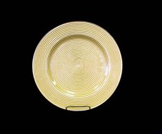 """Gold Coiled Plate Charger, Glass 13"""""""