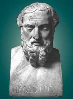 """""""No one is so foolish as to prefer war to peace, in which, instead of sons burying their fathers, fathers bury their sons."""" ― Herodotus, The Histories"""