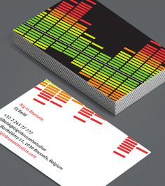 Big in Brussels: good sound quality is a must for DJ's, sound engineers, musicians, radio executives and music production technicians looking for a new Business Card that's simple, direct and shows exactly who they are and what they do in a visually arresting way. Turn it up! #moocards #luxebymoo #businesscard
