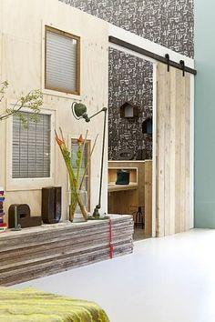 Origineel dressoir van steigerhout