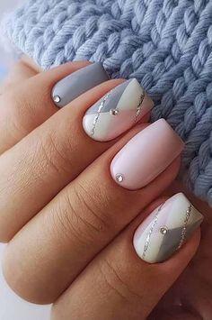 nail art diy ~ nail art designs ` nail art ` nail art designs for spring ` nail art videos ` nail art designs easy ` nail art designs summer ` nail art diy ` nail art summer Gel Nail Art, Nail Art Diy, Diy Nails, Cute Nails, Nail Nail, Acrylic Nails, Gold Nail, Polish Nails, Pink Nail