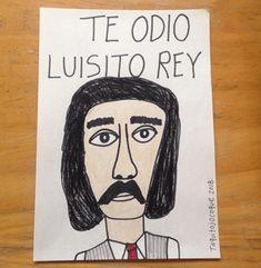 Te odio Luisito Rey la playera que hasta Diego Boneta quiere