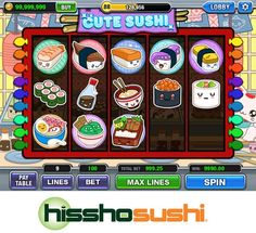 Did you hit the JACKPOT on this sushi slot machine?!