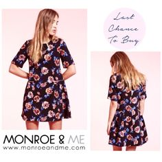 LAST CHANCE TO BUY! Floral Dress with Zip Detail was 479 AED now 235 AED! Only 2 size S and 1 size L left...comment with 'SOLD, your size and your email address' and we will get in touch to send this out for cash on delivery. First comes first served basis! #instasale #lastchancetobuy #floral #dahlia #dress  #portobello #sale #lastchance #fashion #style #weekend #trend #monroeandme #dubai #abudhabi  #uae #mydubai