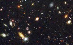 Myriad Galaxies in Hubble's Deep Field Image